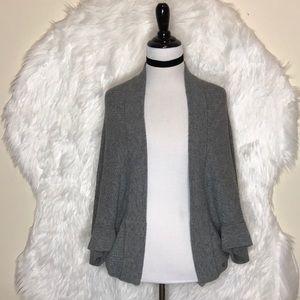 Banana Republic Gray Luxury Cashmere Cardigan